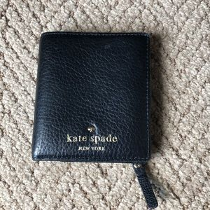 Kate Spade Cobble Hill Black Leather Wallet - NEW!